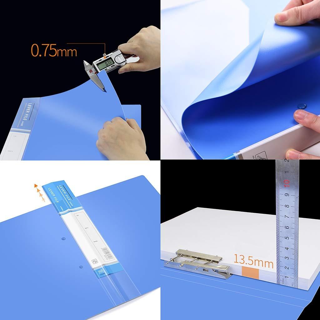 Aktenteiler Ordner, A4-Dateispeicher (Kunststoff) 31  24    2.2CM , Pack-5 (Farbe   E) B07NL47J49 | Abgabepreis  e764c7