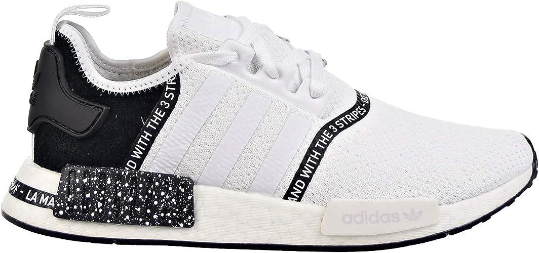 adidas Herren Schuhe NMD_R1 Cloud WhiteCore Black ef3326