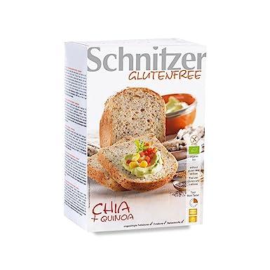Pan con Chía y Harina de Quinoa Sin Gluten Ecológico ...