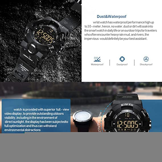 XHN Smart Watches, GPS Sports Watch Sport Modes Fitness Watch ...