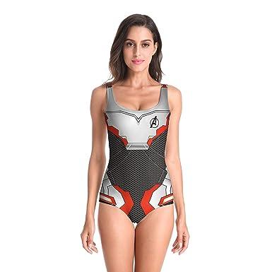 Amazon.com: Avengers Endgame Quantum - Bañador para mujer ...
