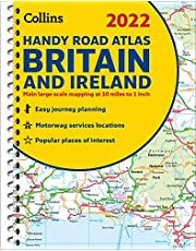 2022 Collins Handy Road Atlas Britain: A5 Spiral