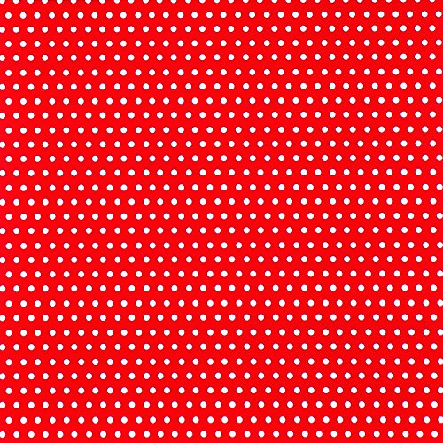 The Gift Wrap Company 1/4 Ream Wrapping Paper, Red Polka Dots by The Gift Wrap Company