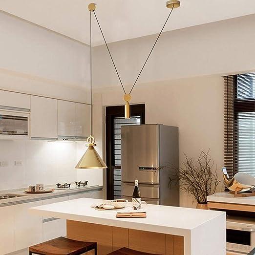 Lámpara de techo de diseño creativo para DIY, E27, lámpara de techo de aleación de cinc, pantalla de lámpara de diseño, personalidad, cuerno araña, lámpara de techo para salón, restaurante, oro: Amazon.es: