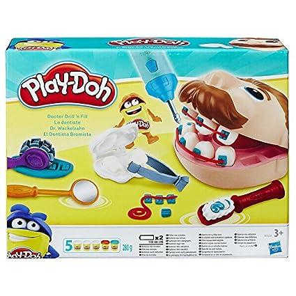 Doktor Wackelzahn Zahnarzt Spielzeug - Hasbro Play-Doh Edition Dr. Wackelzahn