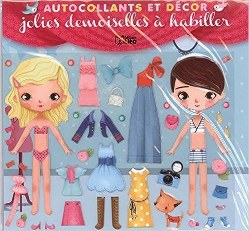 Lire un Jolies demoiselles à habiller - Dès 3 ans pdf