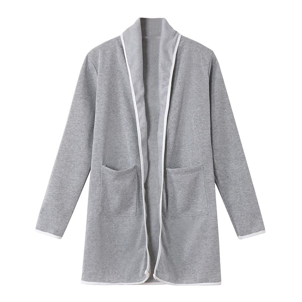 Yvelands Womens Winter Loose Wild Elegante Windbreaker Knit Sweater Long Cardigan Coat: Amazon.es: Ropa y accesorios