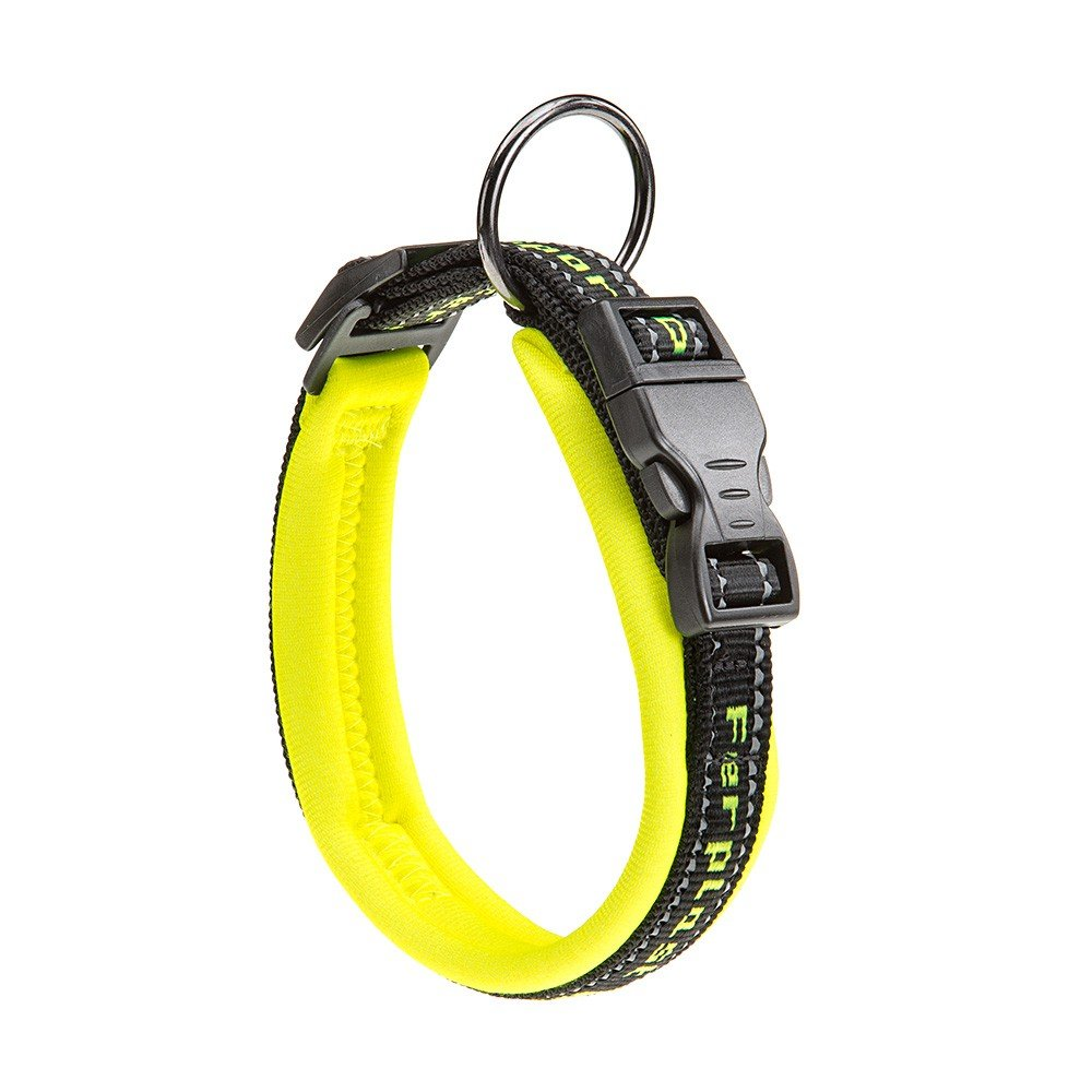 Ferplast Collier Sport Dog Jaune Fluo pour Chien – Dimension : à : 27 ÷ 35 cm B : 15 mm FERPLAST s.p.a