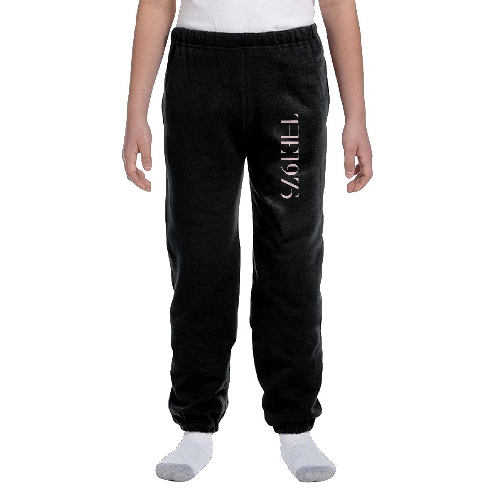 Sports 1975 Band Logo Boys' And Girls' Jogger Sweatpants Elastic Ankle