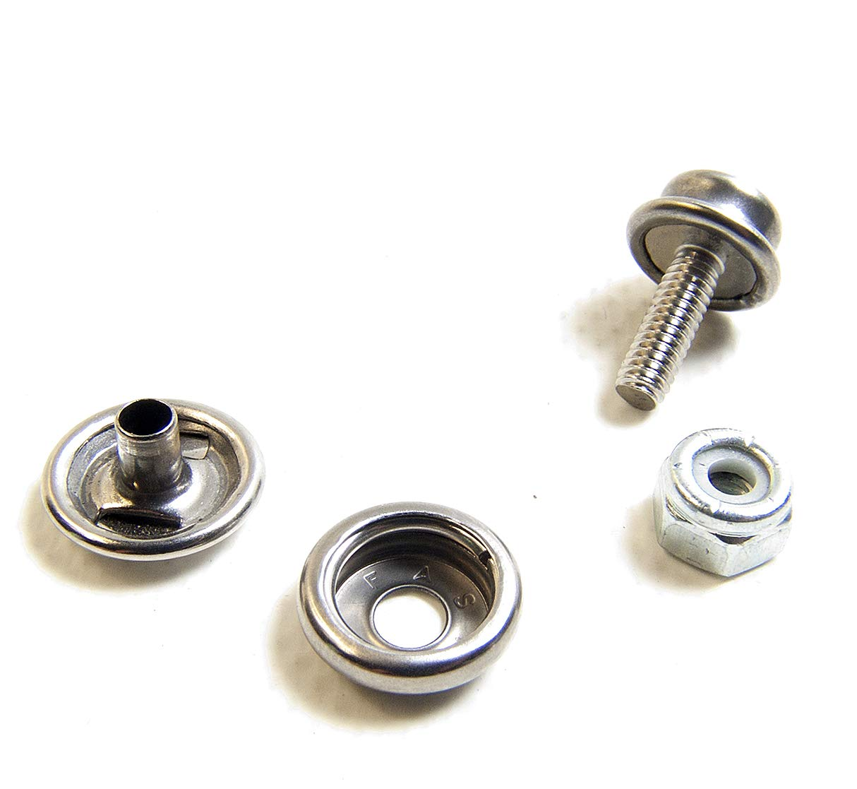 "DOT Stainless Steel #8 Screw Stud 1/"" 30 Pieces"