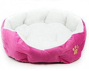 Westeng Cachorro Cama Oval Forma de Peluche Perro Gato Cueva Mascota pequeña Cama Dimple Suave, 1pc: Amazon.es: Productos para mascotas