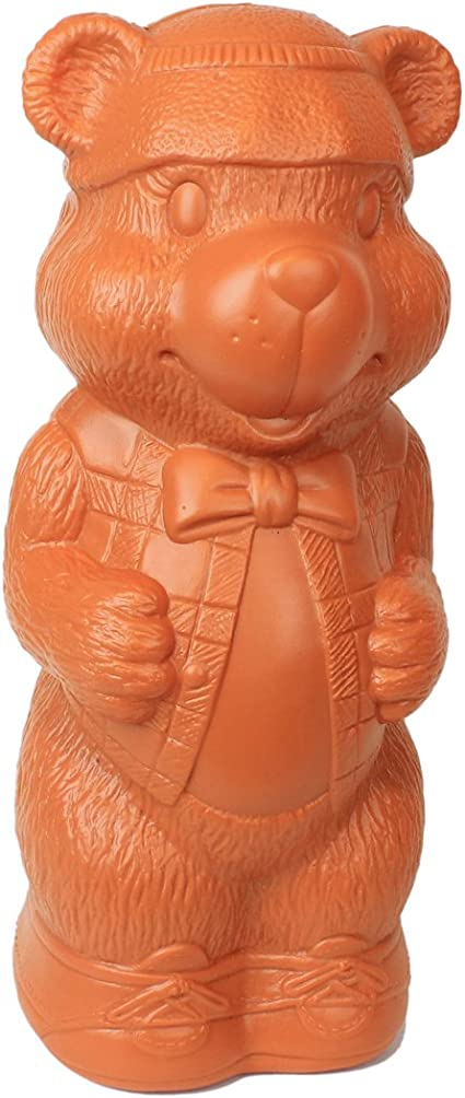 Retro Bank Design.Amazon Com Honey Bear Money Bank Large Plastic Blow Mold Design