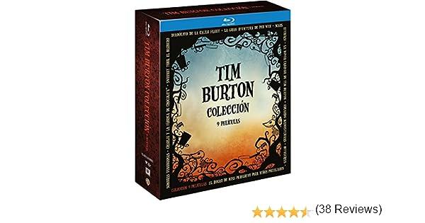 Pack Tim Burton 9 Titulos Blu-Ray [Blu-ray]: Amazon.es: Johnny ...