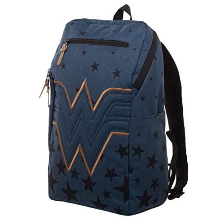 Wonder Woman Backpack – Navy Blue Backpack w Wonder Woman Logo