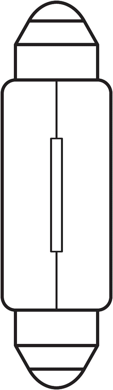 Osram 6411 Neolux Standard L/ámpara Hal/ógena de Faros Bl/íster Doble