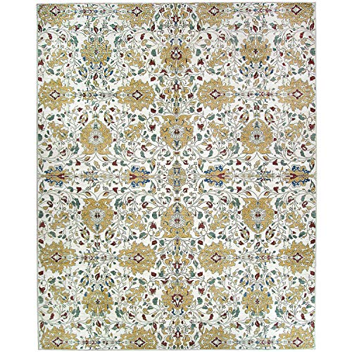 RUGGABLE Washable Stain Resistant Indoor/Outdoor, Kids, Pets, and Dog Friendly Area Rug 8