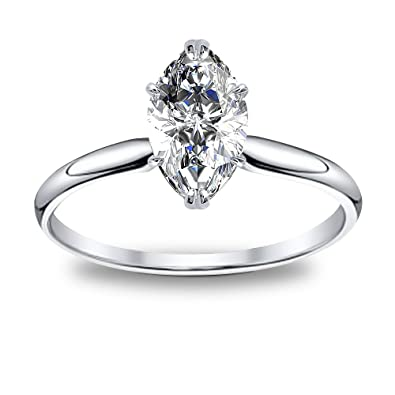 dce9c3edb469d DIAMOND MANSION Natural Marquise Cut Solitaire Engagement Ring - GIA ...