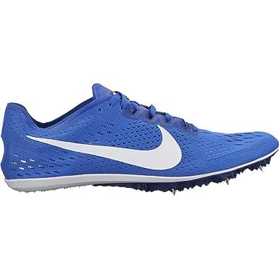 huge discount 2b340 181d1 Amazon.com  NIKE Mens Zoom Victory 3 Racing Shoe Hyper RoyalWhiteDeep  Royal BlueBlack Size 7.5 M US  Track  Field  Cross Country