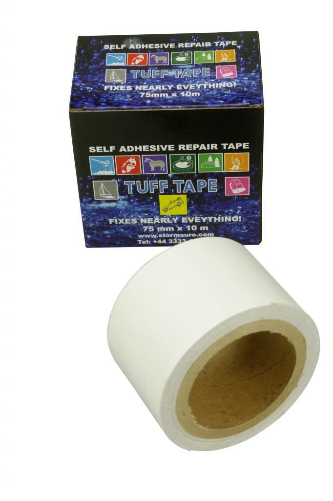 TUFF Tape - Sehr starke klaren Klebeband. 10m x 75mm