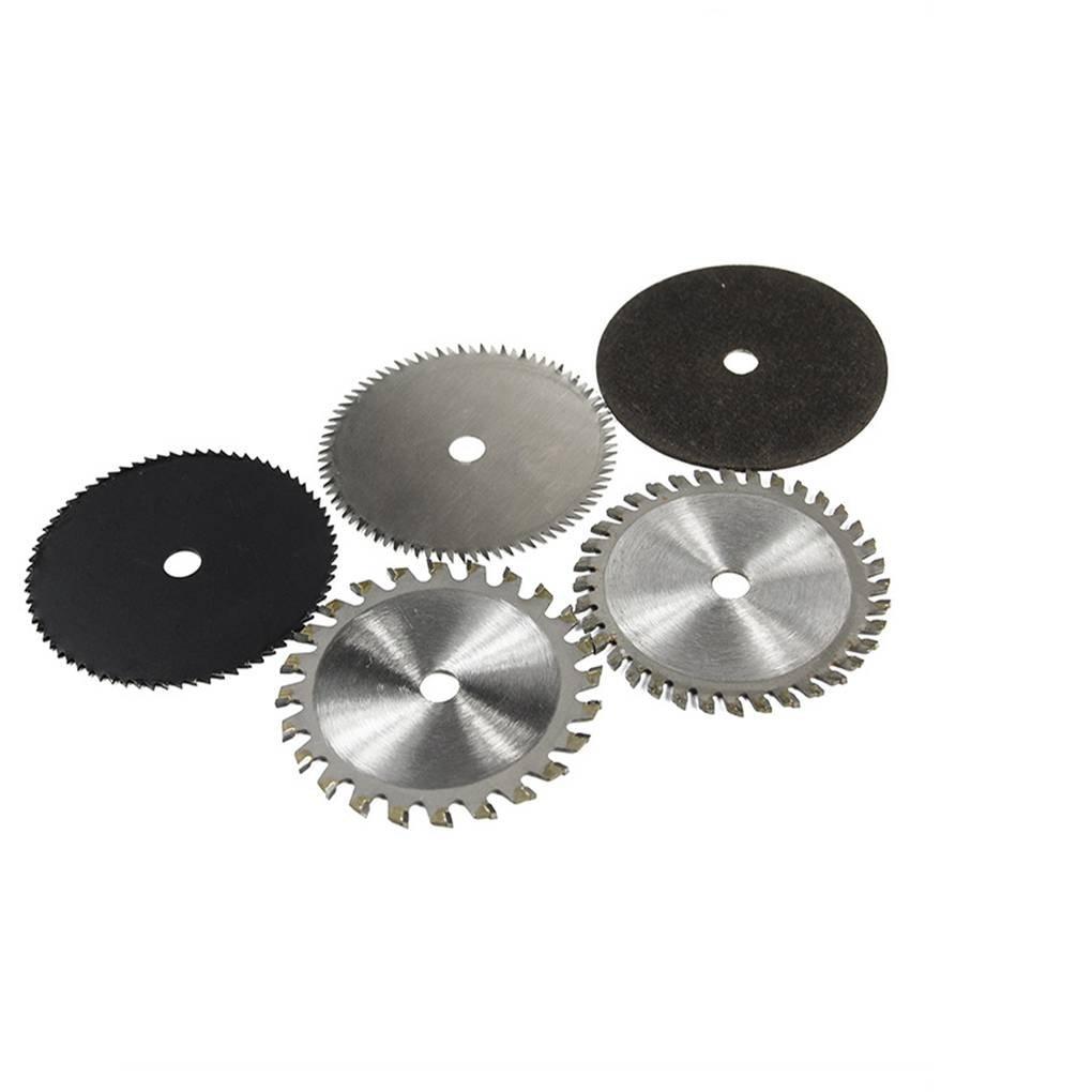 Muluo 5pcs 85mm Diameter 10mm Inner Diameter Small Circular Saw Blade Hard Alloy Rotation Cutting Tools