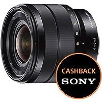 Sony SEL1018 Obiettivo con zoom super-grandangolare da 10-18 mm F4, APS-C, stabilizzatore ottico, Innesto E, Nero