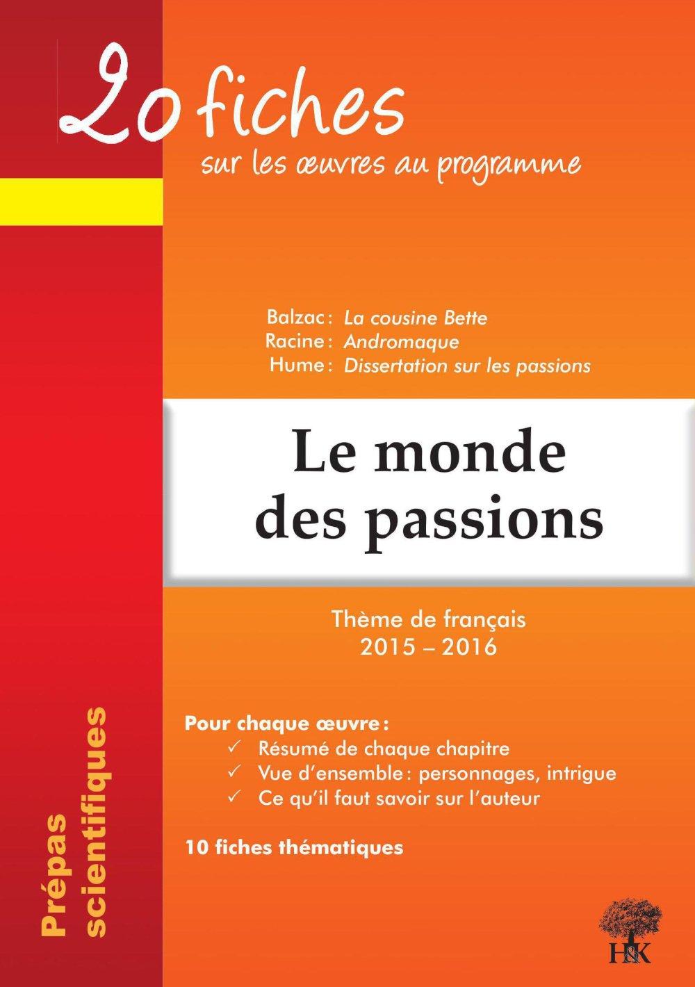 hume dissertation sur les passions prepa