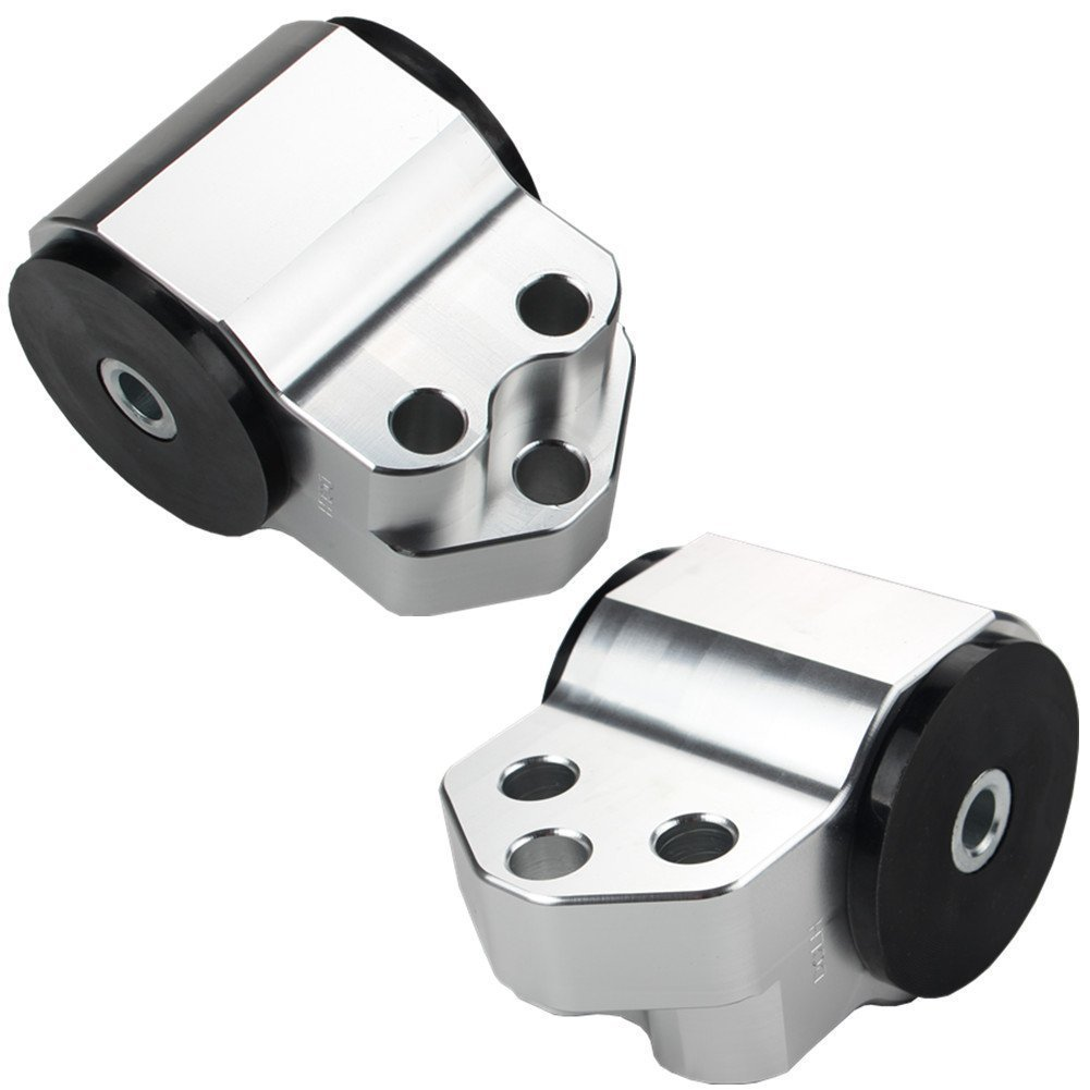 JUDING HONDA CIVIC MOTOR MOUNTS KIT D16 B16 B18 EG B-SERIES ENGINE 92-95 Silver 93-97 Del Sol