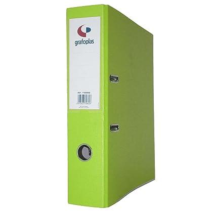 Displast - Archivador az fº carton forrado l-70 verde