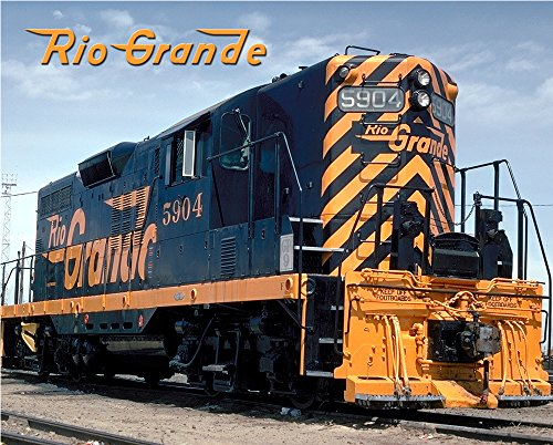 Gp9 Diesel Locomotive - Rio Grande GP9 8