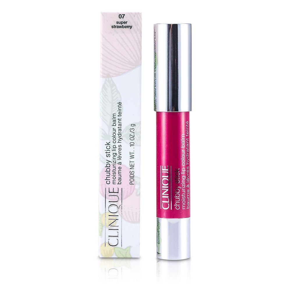 CLINIQUE by Clinique Chubby Stick - No. 07 Super Strawberry --3g/0.10oz for WOMEN ---(Package Of 5)