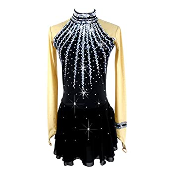 GW Vestido de Patinaje sobre Hielo para Mujeres, niñas ...