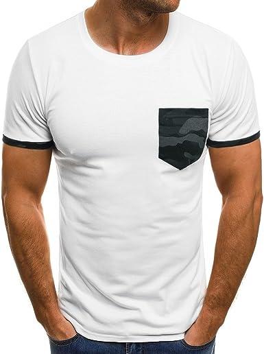 MVPKK Camisetas de Manga Corta Hombre, Camisetas para Hombre ...