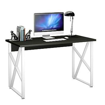 Amazon.com: Mesa de ordenador portátil de metal, para ...