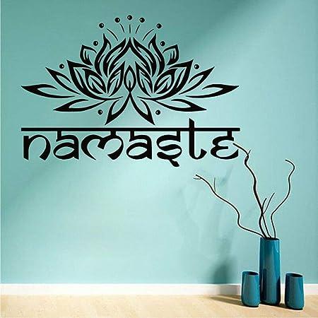 Geiqianjiumai Yoga Lotus Mandala Buda símbolo Vinilo ...