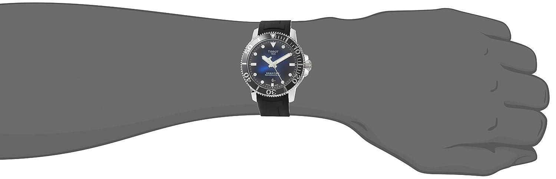 Tissot herr Seastar 1000 Powermatic 80 – T1204071704100 Svart