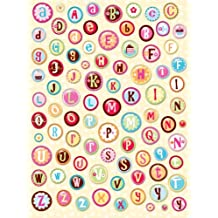 K & Company Confetti Alphabet Clearly Yours