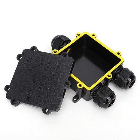Plastica Ritardante di Fiamma Scatola di Giunzione IP66 Impermeabile a Prova di Polvere Interruttore Controllo Scatola Recinzione del Progetto Elettrico 65x95x55mm 2.56x3.74x2.17in 65 * 95 * 55