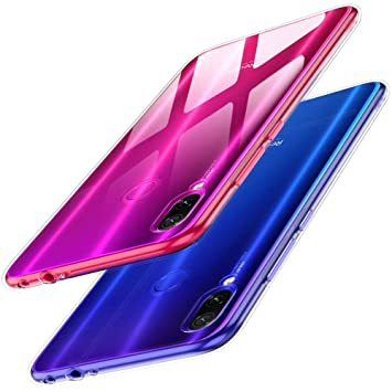 TesRank Funda Xiaomi Redmi Note 7/ Redmi Note 7 Pro, Carcasa Ultrafina TPU Suave Silicona Fundas para Xiaomi Redmi Note 7 / Redmi Note 7 Pro ...
