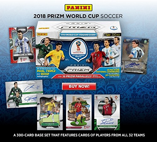ONE FAT Pack 2018 PRIZM Panini Russia 2018 World cup Soccer ( 15 cards in the pack )
