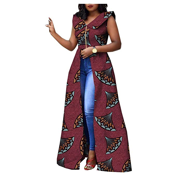 outlet online hot-selling professional hot-selling newest RealWax Women's African Dress for Party wear Split Ball Gown