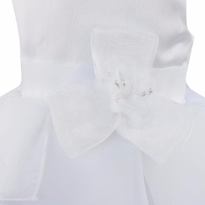 FEESHOW Vestido de flores con volantes para bodas bautizo bautizo cumplea/ños bautizo fiesta de bautizo damas de honor