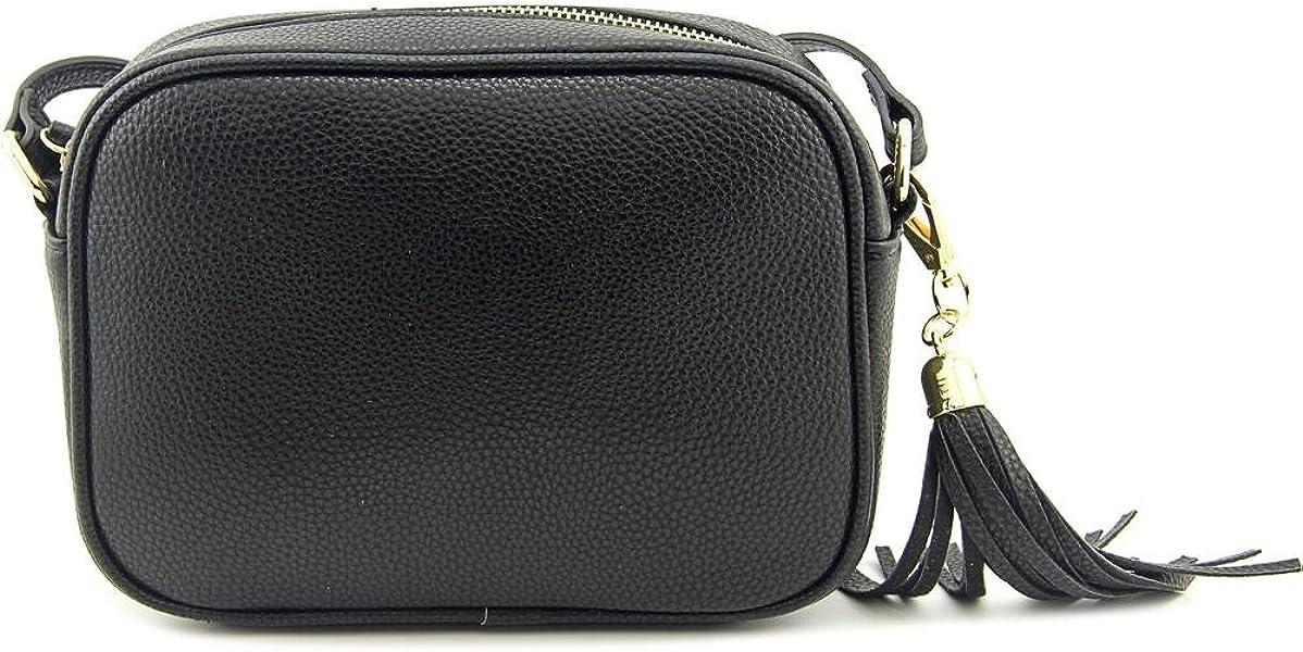 c1569f3c60353 Kate   Alex Cuffaro Camera Crossbody Bag Women Black Messenger ...