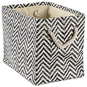 DII Woven Paper Storage Basket or Bin, Collapsible & Convenient Home Organization Solution for Office, Bedroom, Closet…