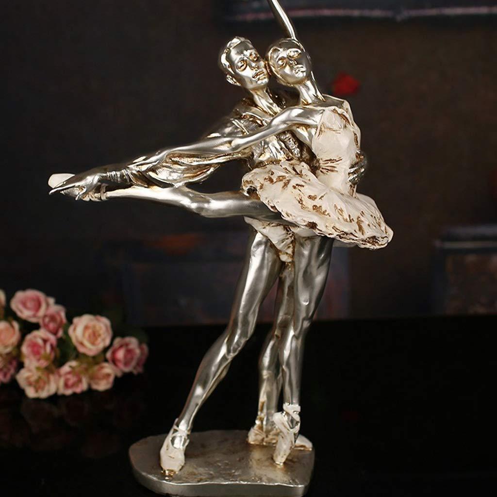 tienda de pescado para la venta INTER FAST Creativo Europeo Nuevo Personaje de Baile Baile Baile Femenino Resina artesanías Adornos salón TV Mueble para el hogar Artesanía  últimos estilos