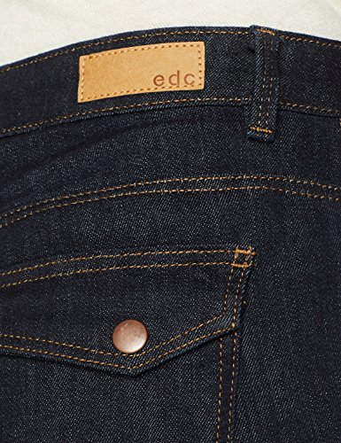Jeans Edc Blu Straight 900 Donna By blue Esprit Rinse FxrxP