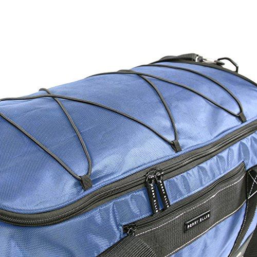 """61vdXT5dBBL - Perry Ellis 22"""" Weekender Duffel Bag, Navy"""