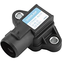 Qiilu MAP Sensor Car Manifold Air Pressure 0281002437 for Universal Car Vehicle Zafira Bosch 0281002437