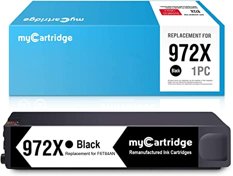 3pk Replacement HP 972X Ink Cartridges for HP Pagewide Pro 452dn 452dw