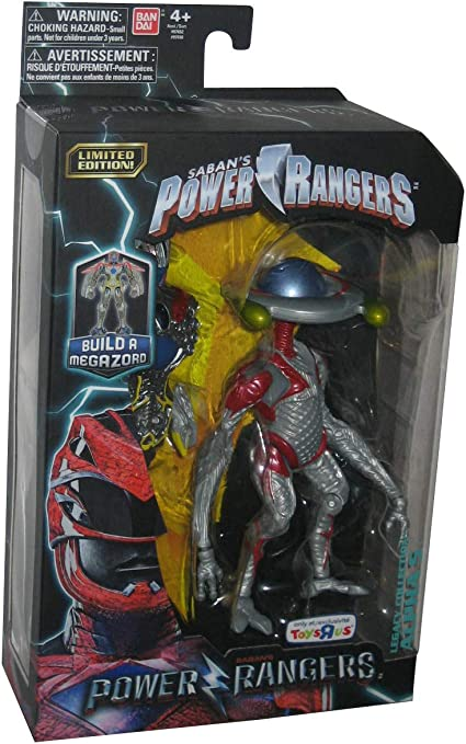 Saban/'s Power Rangers Black Ranger Legacy Collection Toys R Us exclusive