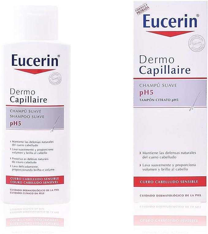 Eucerin Champú Suave pH5-250 ml: Amazon.es: Belleza